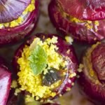 Red Onions with Cous-Cous